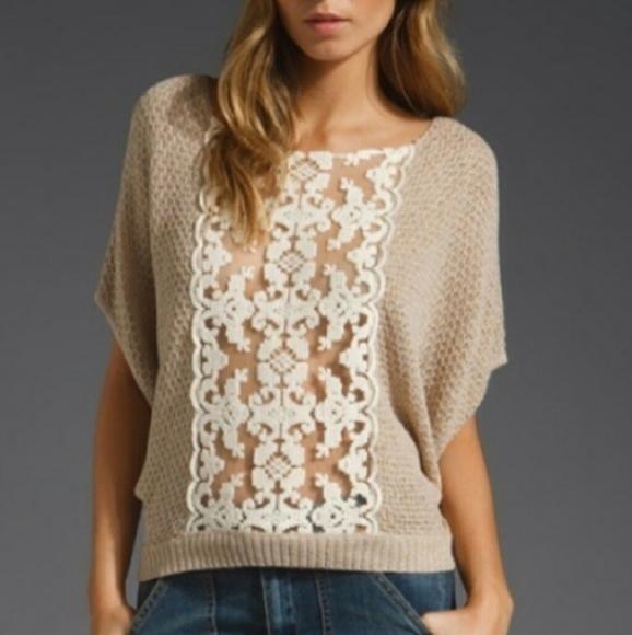 Free People Sweaters - Free People Sparkle Oversize Dolman Sleeve Sweater
